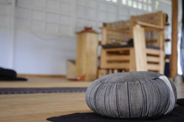 cuscino per meditare
