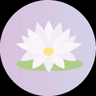 afece2f9fc Utilizzato in svariati culti orientali, il fiore di loto è largamente  conosciuto come una rappresentazione dell'illuminazione.