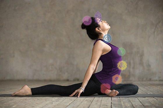 yin yoga e chakra