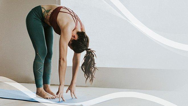 piegamento in avanti yoga