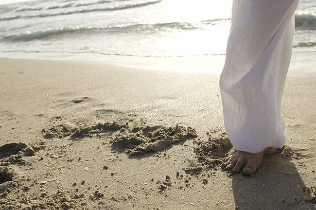 piedi yoga