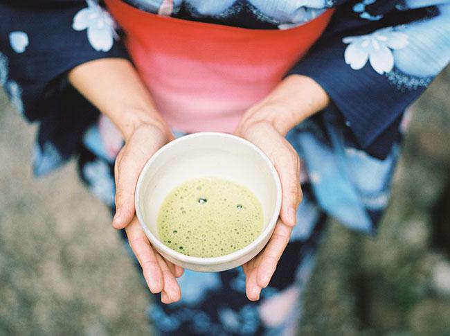 tazza da tè giapponese