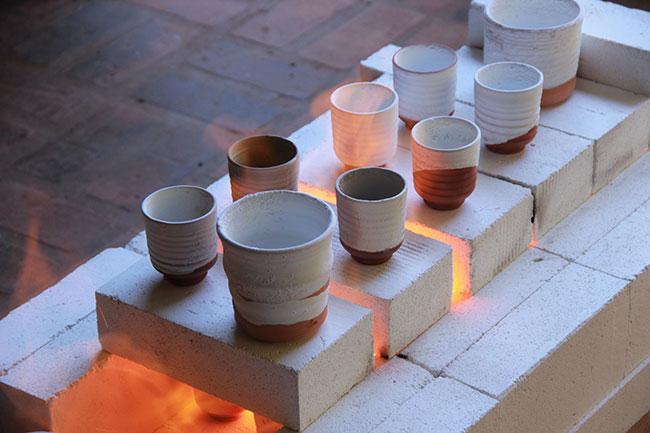 tazze di ceramica